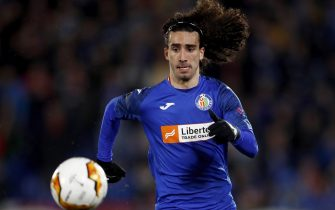 GETAFTE, SPAIN - FEBRUARY 20: Marc Cucurella of Getafe  during the UEFA Europa League   match between Getafe v Ajax at the Coliseum Alfonso Perez on February 20, 2020 in Getafte Spain (Photo by Eric Verhoeven/Soccrates/Getty Images)