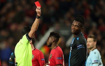 United-Brugge, la parata da rosso di Deli. Video