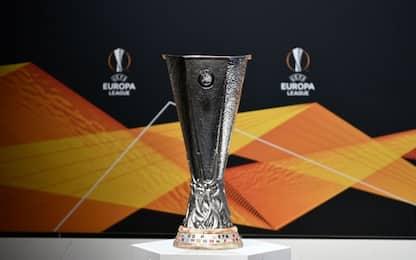 Europa League, sorteggio quarti e semifinali LIVE