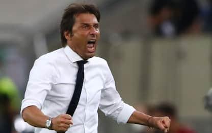 """Conte: """"Grande Inter, mai visto un Lukaku così"""""""