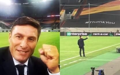 Zanetti, selfie-regalo: compleanno e semifinale!