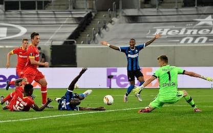 Lukaku, gol capolavoro in Inter-Leverkusen. VIDEO