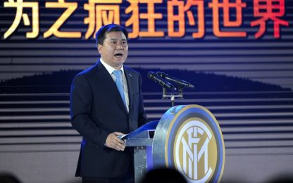 """Zhang Sr: """"Spero che l'Inter ci renda felici"""""""