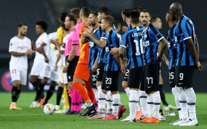 Siviglia-Inter partita Sky-Tv8 più vista di sempre