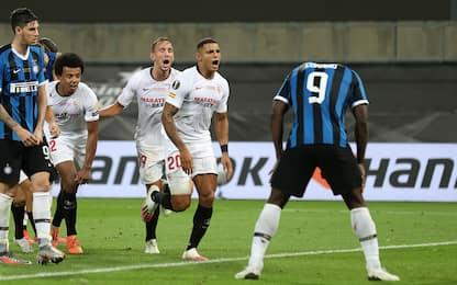L'Inter si ferma in finale, vince il Siviglia 3-2