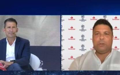 """Ronaldo e Figo: """"Dispiace per l'Inter, meritava"""""""