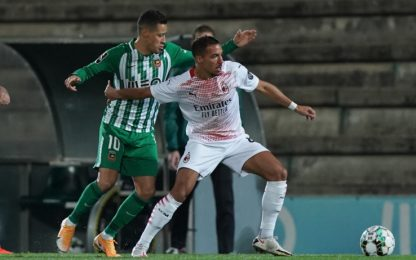 Rio Ave-Milan 0-0 LIVE: ci prova Hernandez