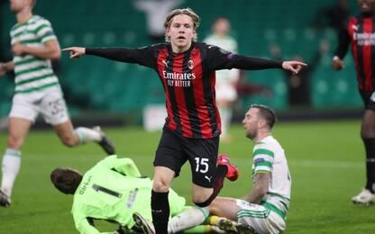 Gol contro e gol per il Milan: un mese di Hauge