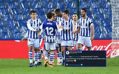 "Real Sociedad al Napoli: ""Vedrete nostra cazzimma"""