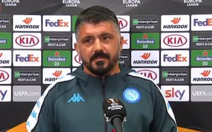 """Gattuso: """"Rinnovo col Napoli? Troveremo l'accordo"""""""