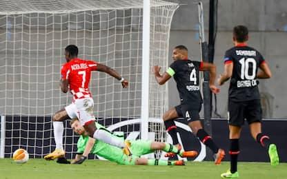 Tacco e dribbling: super gol di Acolatse. VIDEO