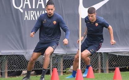 Cluj-Roma, Smalling e Mancini out per infortunio