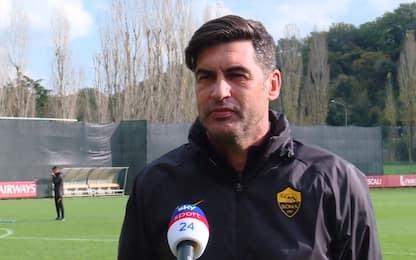 """Fonseca: """"Dzeko giocherà ma non dall'inizio"""""""