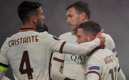 Roma, 2-0 al Cluj e qualificazione ai sedicesimi