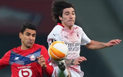 Il Milan non passa senza Ibra, 1-1 col Lille