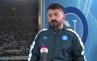"""Gattuso: """"Insigne sia meno musone. Ora continuità"""""""