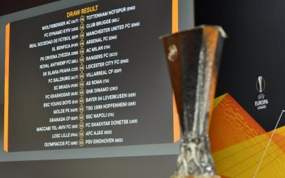 Europa League, calendario completo dei sedicesimi