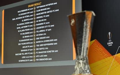 Europa League, calendario completo dei sedicesimi