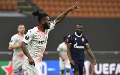 Il Milan soffre ma passa: 1-1 con la Stella Rossa