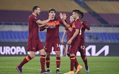 Nessun problema per la Roma: 3-1 al Braga e ottavi