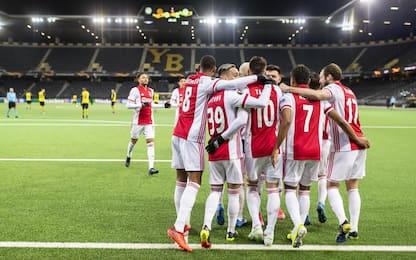 Ai quarti Ajax e Arsenal, Tottenham eliminato