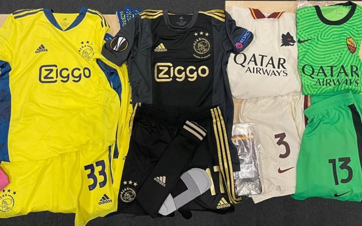 Ajax Roma seconde maglie