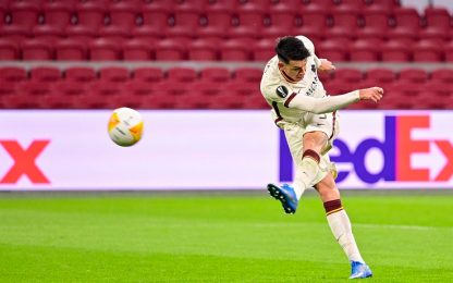"""La bomba di Ibanez"": Ajax-Roma 1-2, festa social"