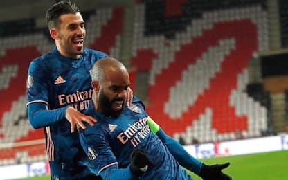 L'Arsenal domina: è semifinale col Villarreal