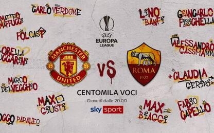 Roma a Manchester, l'appello dei tifosi vip. VIDEO