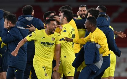 Il Villarreal resiste all'Arsenal: 0-0 e finale