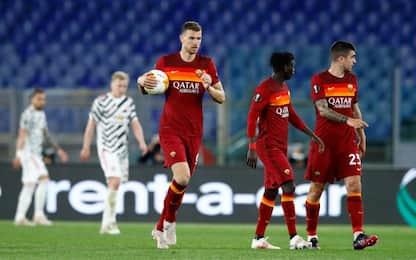 La Roma esce a testa alta: United battuto 3-2
