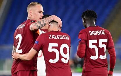 La Roma salva l'onore, United in finale ma ko 3-2