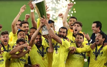 Il Villarreal vince l'Europa League al 22° rigore