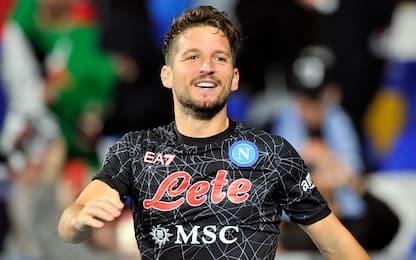 Mertens dal 1': le probabili di Napoli-Legia
