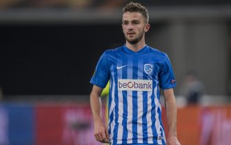 Siebe Schrijvers of KRC Genkduring the UEFA Europa League round of 16 match between KAA Gent and KRC Genk on March 09, 2017 at the Ghelamco Arena in Gent, Belgium.(Photo by VI Images via Getty Images)