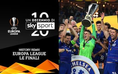 Un decennio di Sky Sport: 10 anni di Europa League