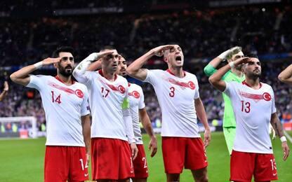 Saluto militare della Turchia, Uefa apre inchiesta