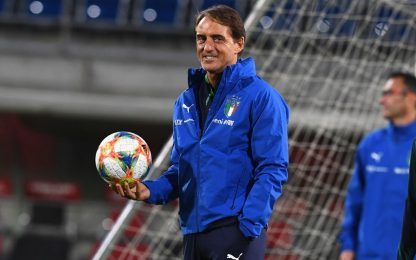 Mancini cambia: probabili di Italia-Liechtenstein