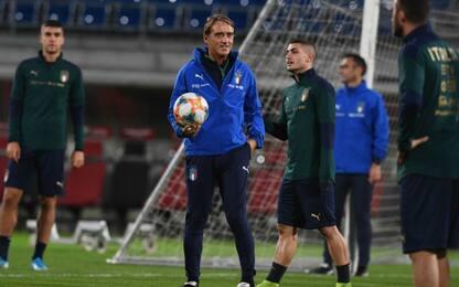 Mancini cambia l'Italia: Di Lorenzo e Grifo dal 1'