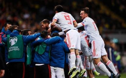 Euro 2020, i risultati: Spagna qualificata