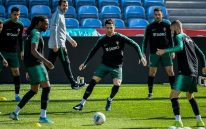 "Santos: ""Ronaldo sta bene, con Lituania giocherà"""