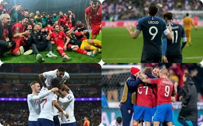 4 nuove squadre a Euro '20: tutte le qualificate