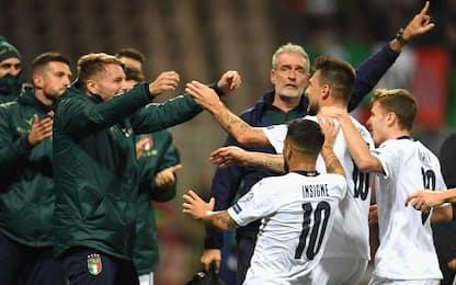 Italia da 10, Bosnia ko 3-0. Record per Mancini
