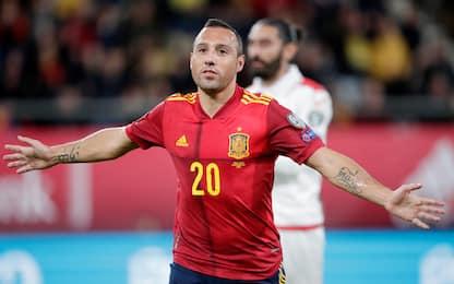 Cazorla è rinato: gol con la Spagna dopo 4 anni