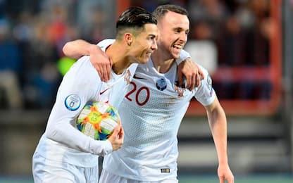 Ronaldo si ferma a 99 gol, Portogallo qualificato