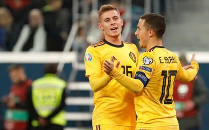 Hazard&Co, i fratelli in gol nella stessa partita