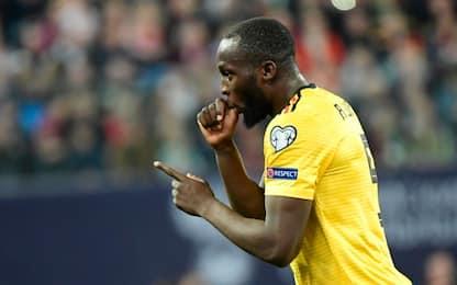 Lukaku, 5000 biglietti ai tifosi per Belgio-Cipro