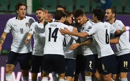 L'Italia chiude col botto: 9-1 show all'Armenia