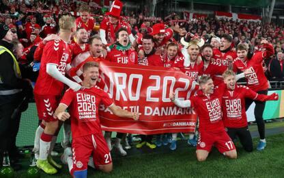Svizzera e Danimarca agli Europei, goleada Spagna