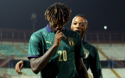 Kean show, Italia U21 scatenata: 6-0 all'Armenia